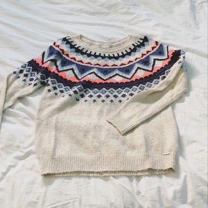 3/30$ Garage tribal pattern sweater